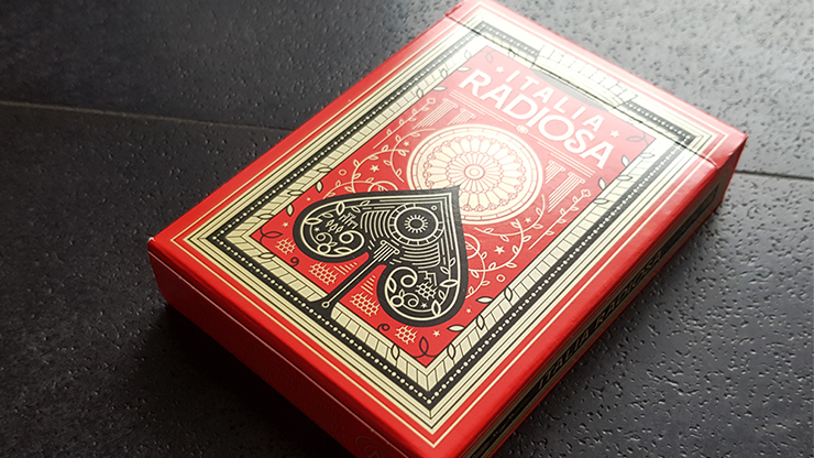 Italia Radiosa Playing Cards - Thirdway Industries