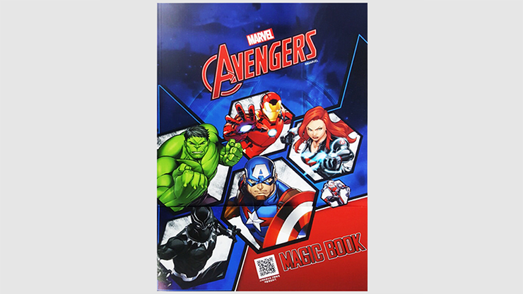 Magic Coloring Book (AVENGERS) - JL Magic
