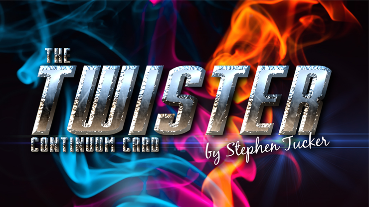 The Twister Continuum Card Red (Gimmick and Online Instructions) by Stephen Tucker - Trick