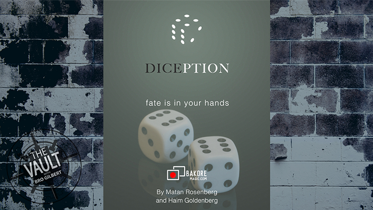 The Vault - Diception by Haim Goldenberg & Matan Rosenberg mixed media DOWNLOAD