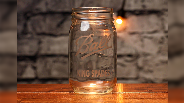 Engraved (Mason Jar KS Gimmick and Online Instructions) by James Kellogg  - Trick