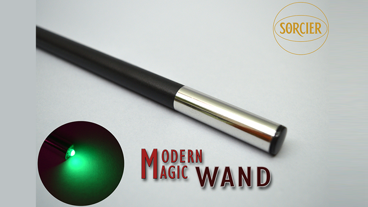 Modern Light Wand GREEN by Sorcier Magic