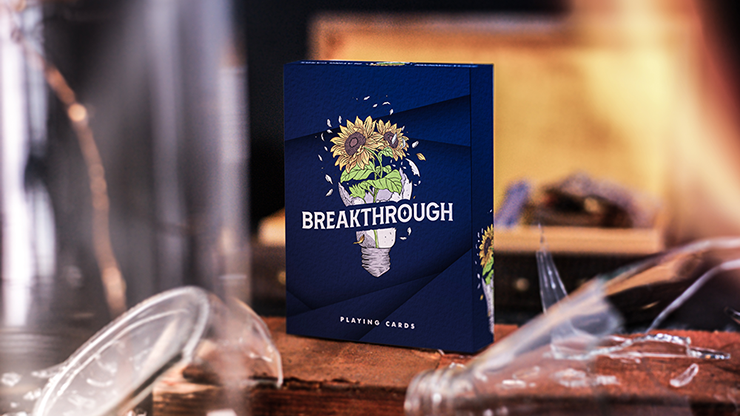 Breakthrough Playing Cards by Emily Sleights