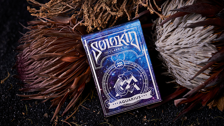 Solokid Constellation Series (Aquarius) Limited Edition Playing Cards