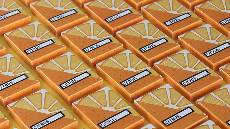 CITRUS Playing Cards - FLAMINKO Playing Cards