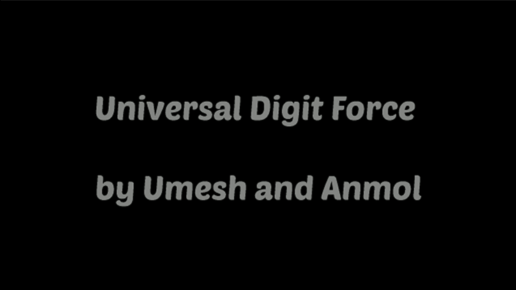 Universal Digital Force by Umesh video DOWNLOAD