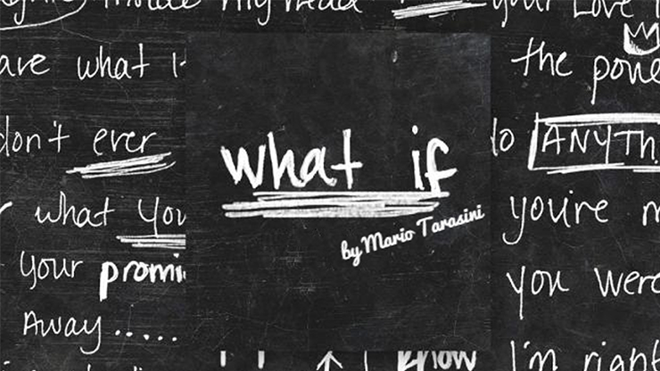 What if by Mario Tarasini video DOWNLOAD