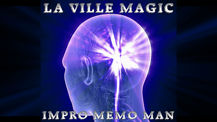 Impro Memo Man & The Rubiks Cube by Lars La Ville La Ville Magic video DOWNLOAD