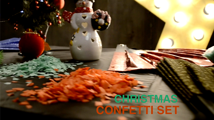 Confetti CHRISTMAS (2pk.) Light by Victor Voitko (Gimmick and Online Instructions) - Trick