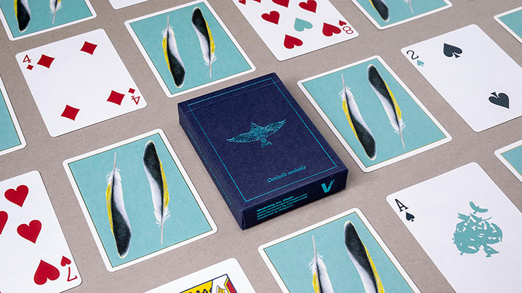 Feather Deck: Goldfinch Edition (Teal) - Joshua Jay