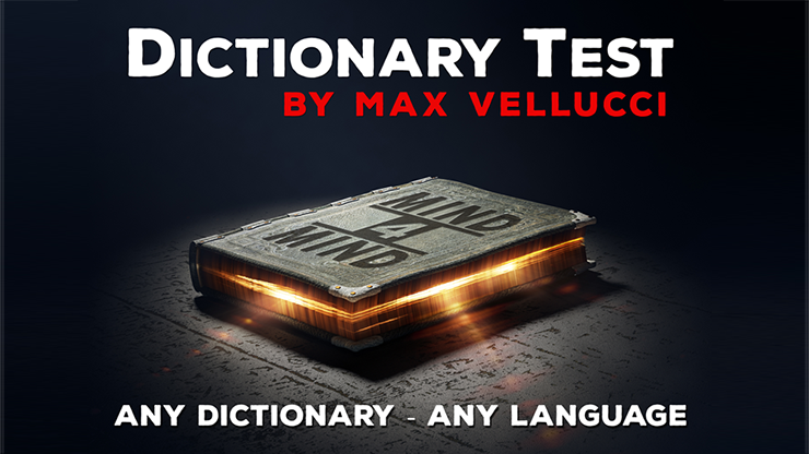 Dictionary Test by Max Vellucci video DOWNLOAD