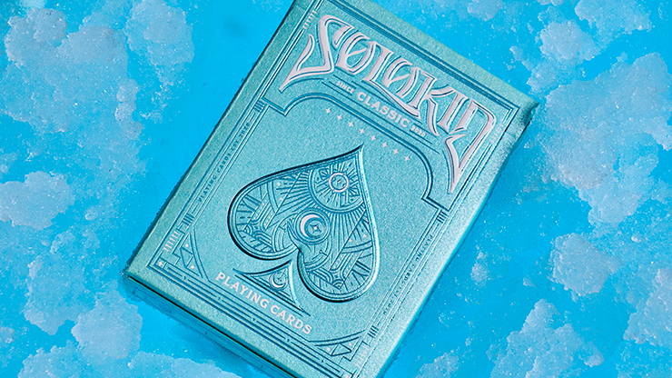 Solokid Cyan Playing Cards - Bocopo