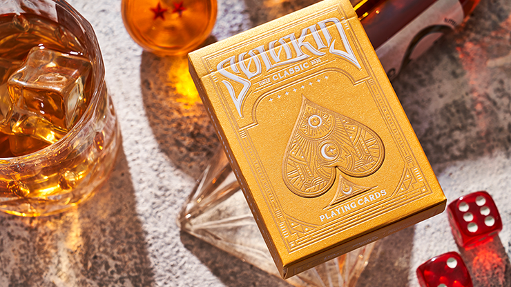 Solokid Gold Edition Playing Cards - Bocopo