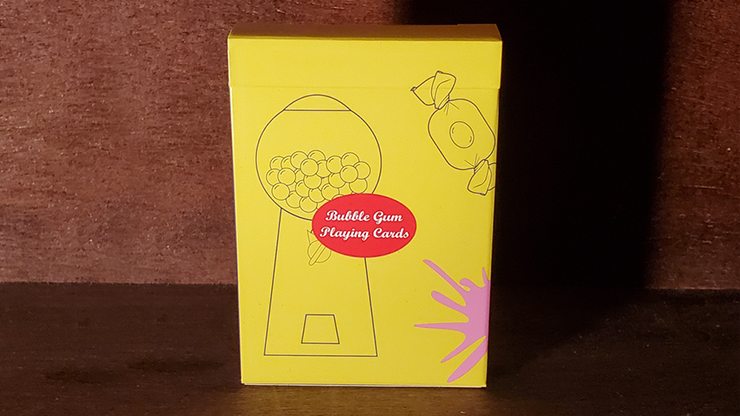 Bubble Gum Playing Cards