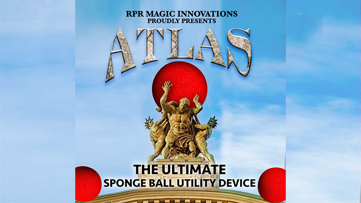 Atlas Kit Red (Gimmick and Online Instructions) - RPR Magic Innovations