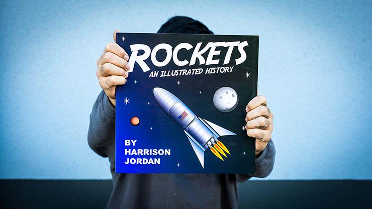 Rocket Book (Gimmicks and Online Instructions) - Scott Green