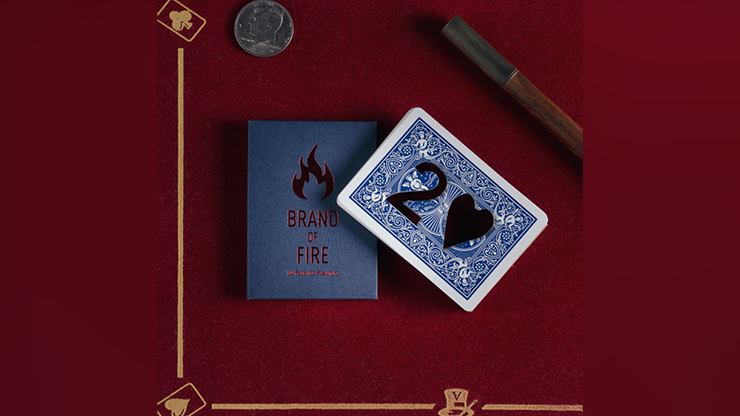 BRAND OF FIRE / BLUE(Gimmicks and Online Instructions) - Federico Poeymiro