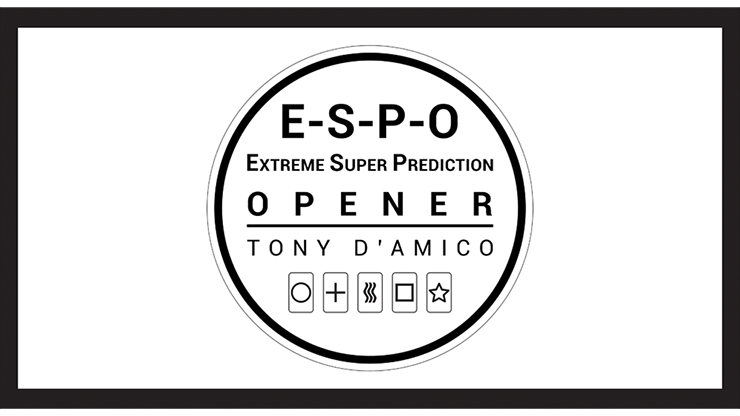 E.S.P.O. (Gimmicks and Online Instructions) - Tony D'AMICO and L
