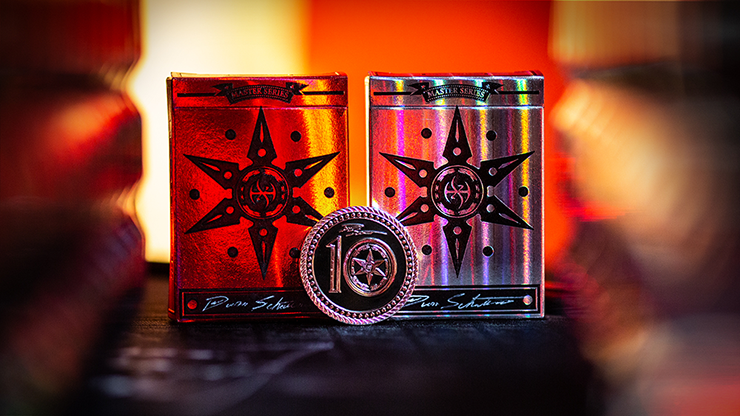 Limited 10th Anniversary Edition Blade Set Playing Cards - Handlordz