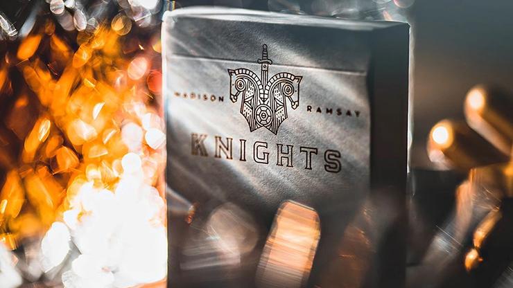 Carti de joc Knights V2 (White)