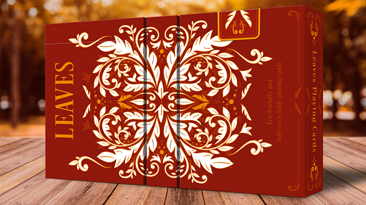 Leaves Autumn Playing Cards - Dutch Card House Company
