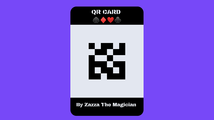 QR CARD By Zazza The Magician Mixed Media DOWNLOAD