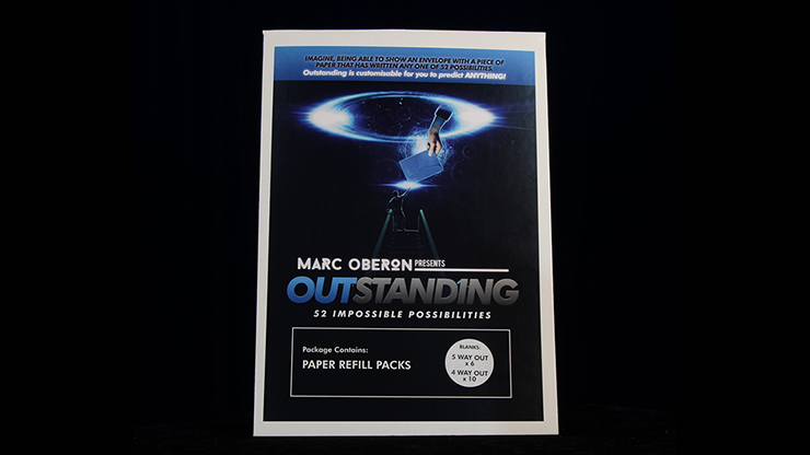 OUTSTANDING Refill Cards (Blank) by Marc Oberon - Trick