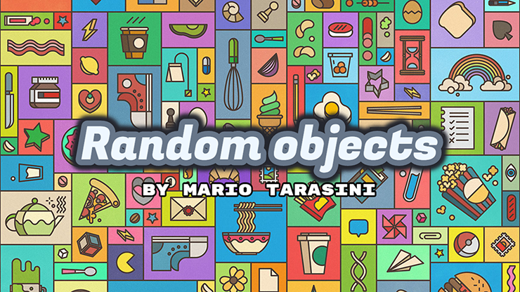 Random objects by Mario Tarasini video DOWNLOAD