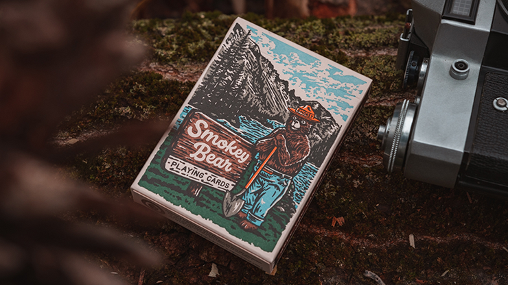 Carti de joc Smokey Bear