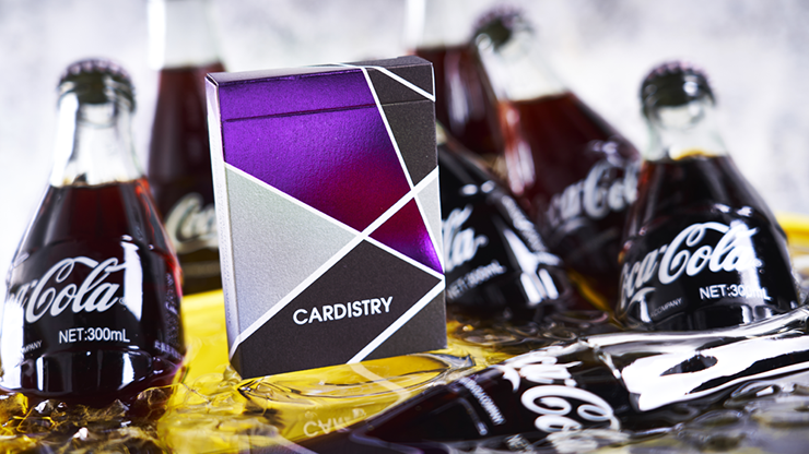 Purple Cardistry Playing Cards - BOCOPO