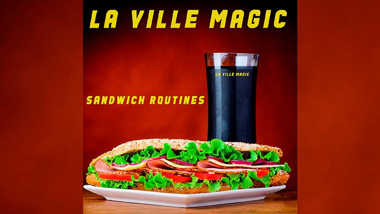 Sandwich Routines - Lars La Ville  La Ville Magic Mixed Media DOWNLOAD