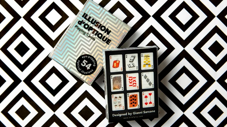 Illusion d'Optique Playing Cards - Art of Play