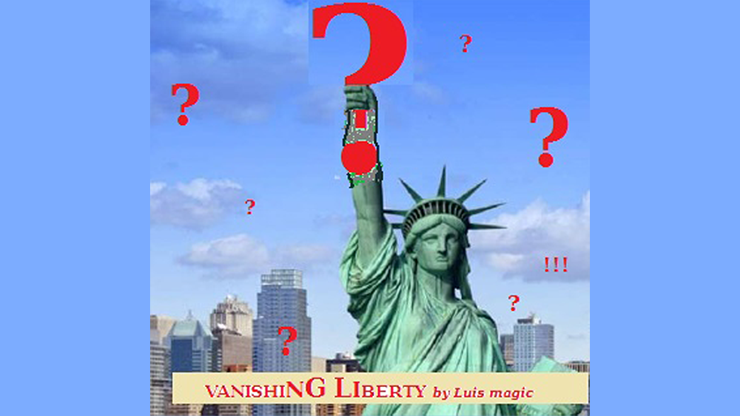 VANISHING LIBERTY by Luis magic mixed media DOWNLOAD