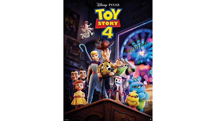 Paper Restore (Toy Story 4) - JL Magic