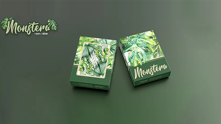 Monstera (Green) Playing Cards - TCC Presents