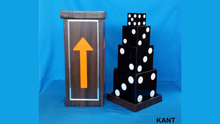 Mystery of Dice Pyramid by Kant Magic - Trick