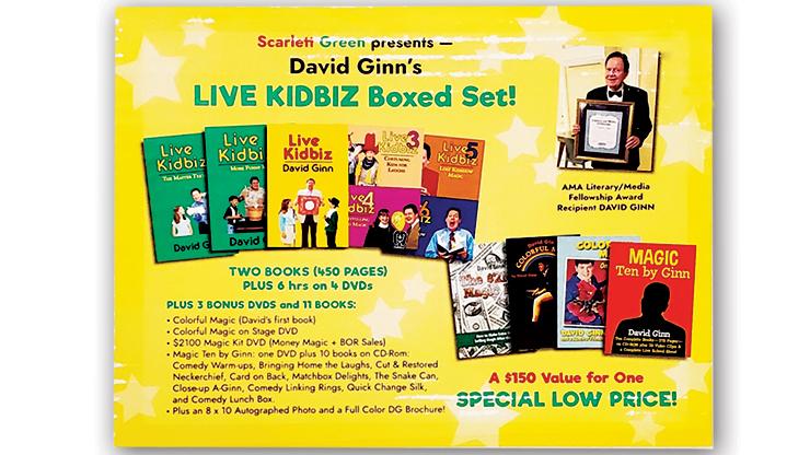 LIVE KIDBIZ BOXED SET - David Ginn  Book