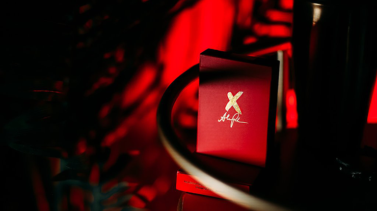 X Deck (Red) Signature Edition Playing Cards - Alex Pandrea