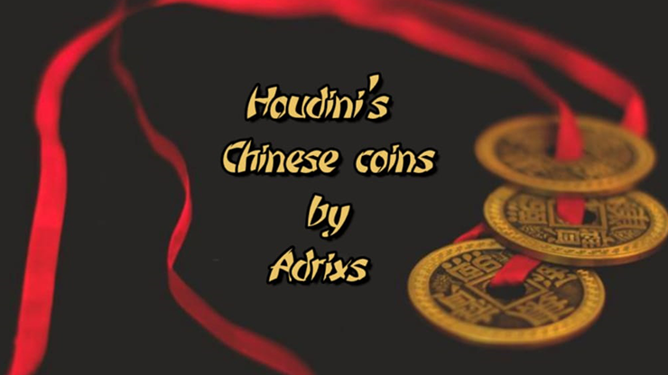 Houdini`s Chinese Coins by Adrian Ferrando video DOWNLOAD