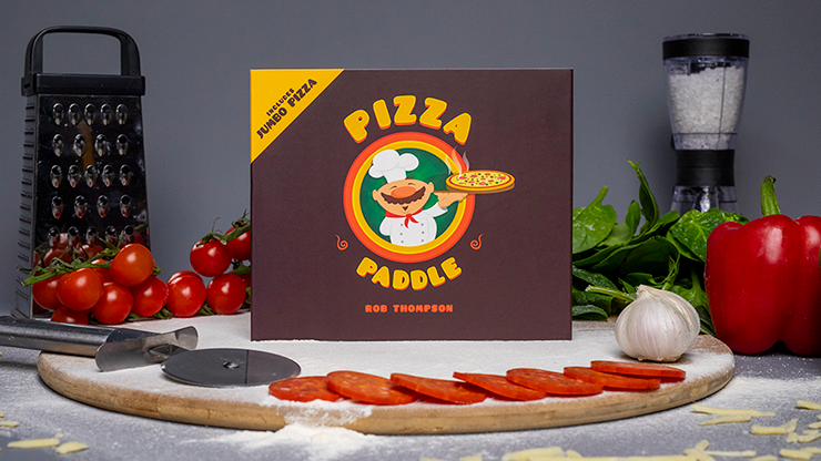 Pizza Paddle Supreme (Gimmicks and Online Instructions) - Rob Th