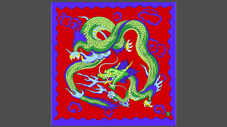 Rice Symphony Silk 36 (Red Dragon) - Silk King Studios