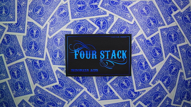 FOUR STACK BLUE by Zihu - Trick