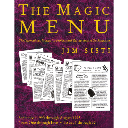 Magic Menu: Years 1 through 5 eBook DOWNLOAD
