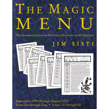 Magic Menu 2 Years 6-10 eBook DOWNLOAD