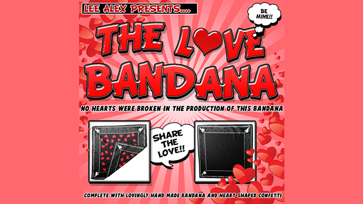 LOVE BANDANA - Lee Alex