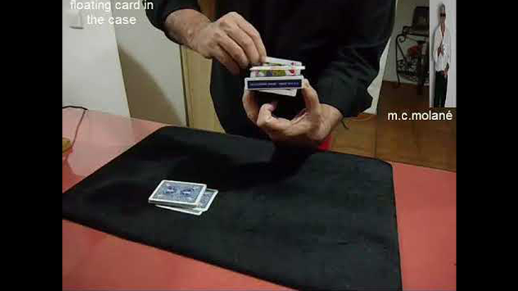 Floating Card In The Case by Salvador Molano video DOWNLOAD