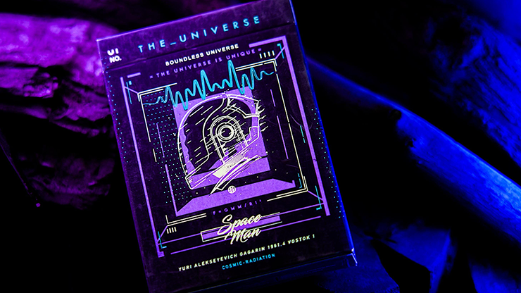 The Universe Space Man Edition Playing Cards - Jiken & Jathan