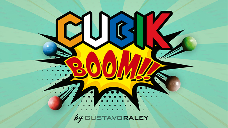 CUBIK BOOM (Gimmicks and Online Instructions) by Gustavo Raley - Trick