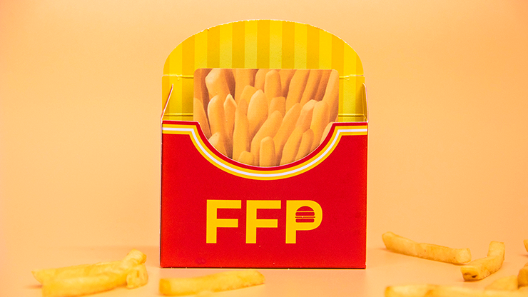 Fries Playing Cards - Fast Food Playing Cards