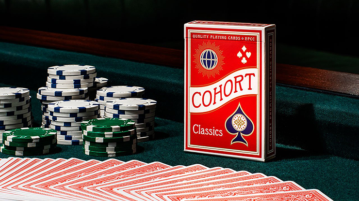 Red V2 Cohorts (Luxurypressed E7) Playing Cards